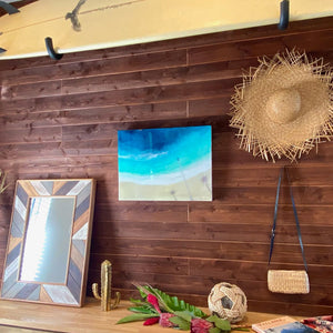 "【Sarah Caudle / サラカードル】""Hanalei Bay""Limited Edition Resin Print"
