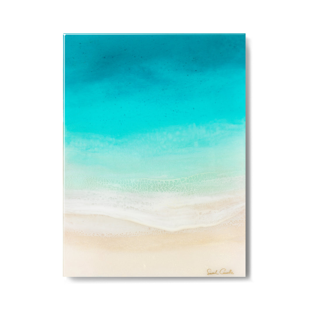 "【Sarah Caudle / サラカードル】""Soothing Sea""Open Edition Resin Print"