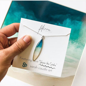 "【Sarah Caudle/ サラカードル】Fottera Jewelry ネックレス""Share the Stoke"""