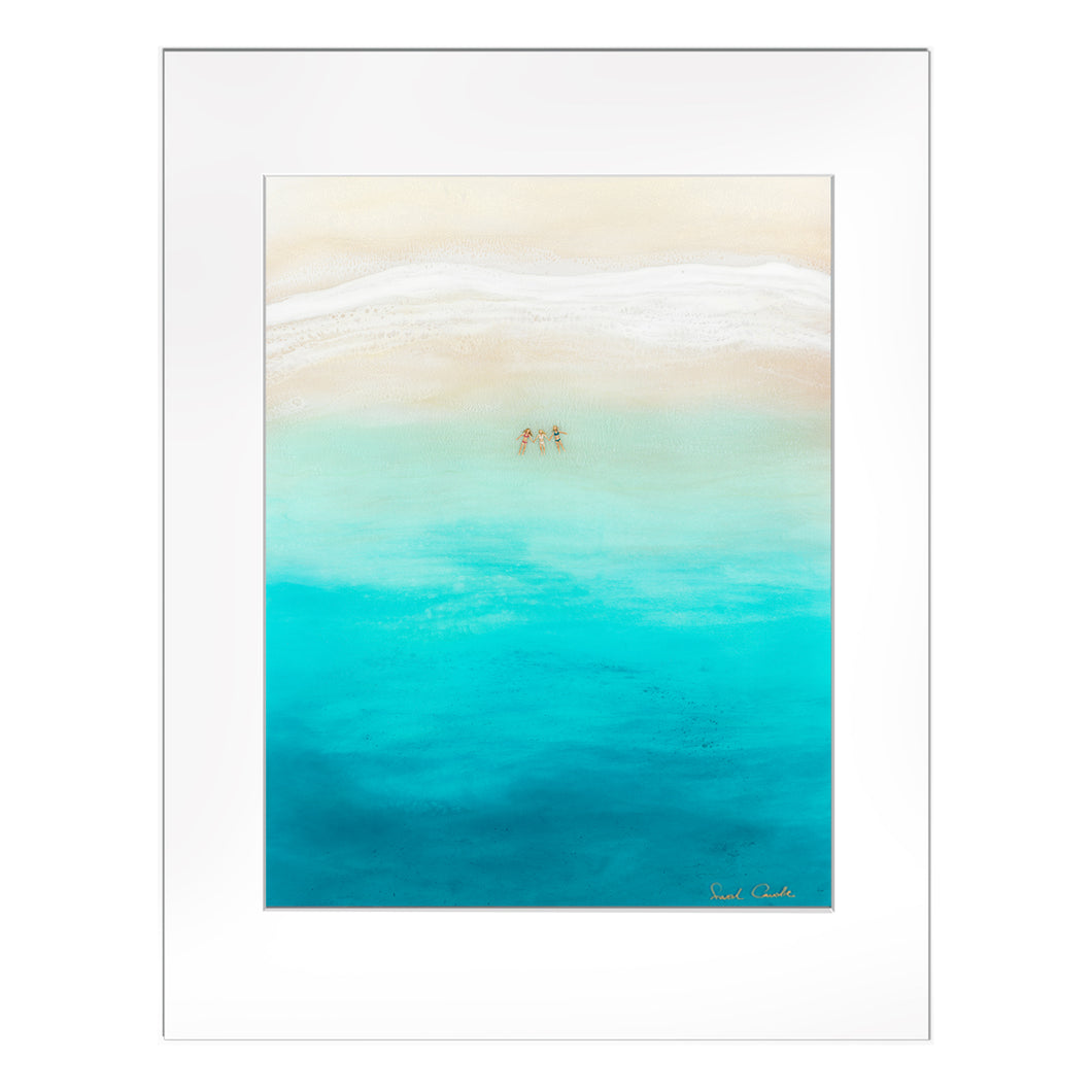 "【Sarah Caudle / サラカードル】""Three for the Sea""Matted Print"