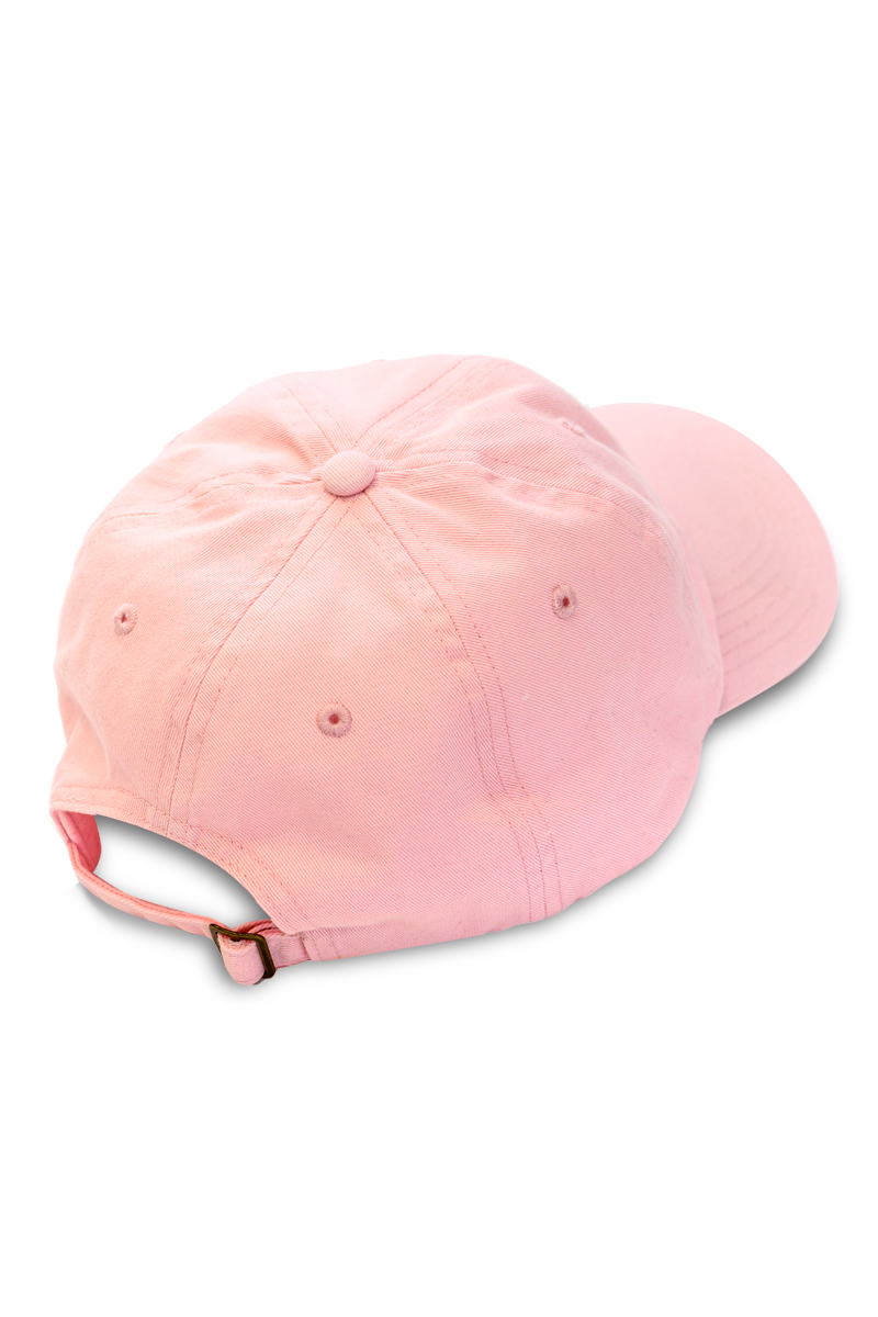 BVH Patch Emblem Dad Hat | Lt. Pink