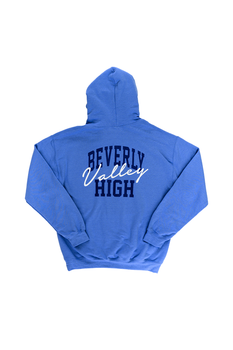 YOUTH BVH Emblem Patch Hoodie | Carolina Blue