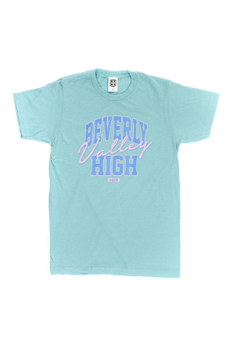 Beverly Valley High T-Shirt | Neo Blue