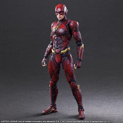Justice League (2017) - The Flash Play Arts Kai Action Figure