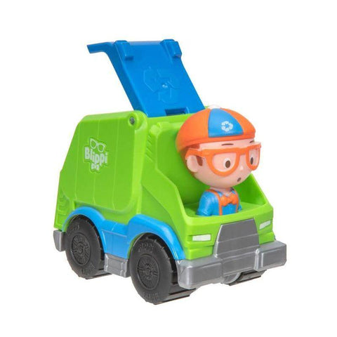 BLIPPI - Mini Vehicles - Garbage Truck