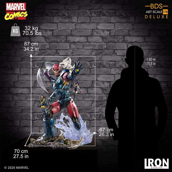 X-Men Vs Sentinel #3 Deluxe BDS Art Scale 1/10 Scale by Iron Studios