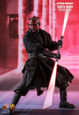 Star Wars Episode I Darth Maul With Speeder 1/6th Scale DX17 Figure By Hot Toys