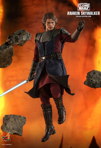 Star Wars: The Clone Wars Anakin Skywalker TMS019 1/6 Action Figure by Hot Toys