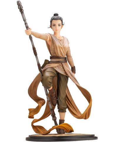 Star Wars : The Force Awakens ARTFX REY DESCENDANT OF LIGHT Statue