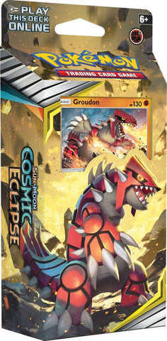 POKÉMON TCG Cosmic Eclipse Groudon Theme Deck