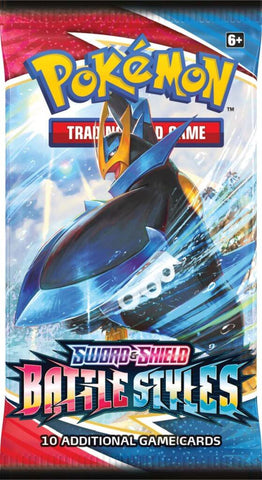 POKÉMON TCG Sword and Shield - Battle Styles Booster Pack