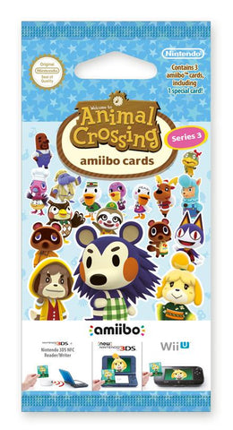 amiibo Animal Crossing Cards Series 3