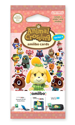 amiibo Animal Crossing Cards Series 4