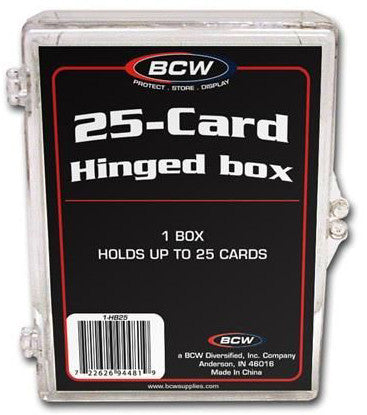 BCW Hinged Box 25 Count