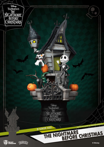 The Nightmare Before Christmas Beast Kingdom D Stage