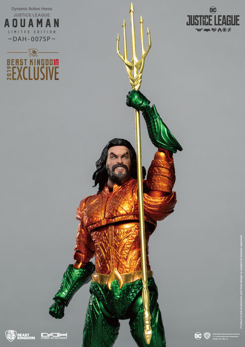 Beast Kingdom Dynamic Action Heroes Justice League Aquaman Limited Edition