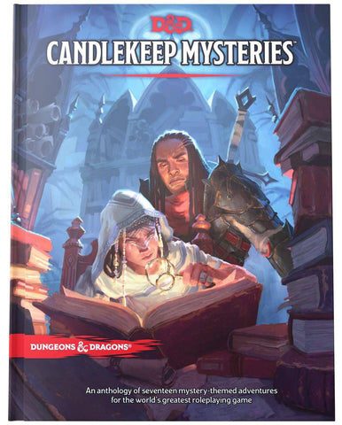 D&D Dungeons & Dragons Candlekeep Mysteries Hardcover
