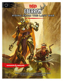 D&D Dungeons & Dragons Eberron Rising from the Last War Hardcover