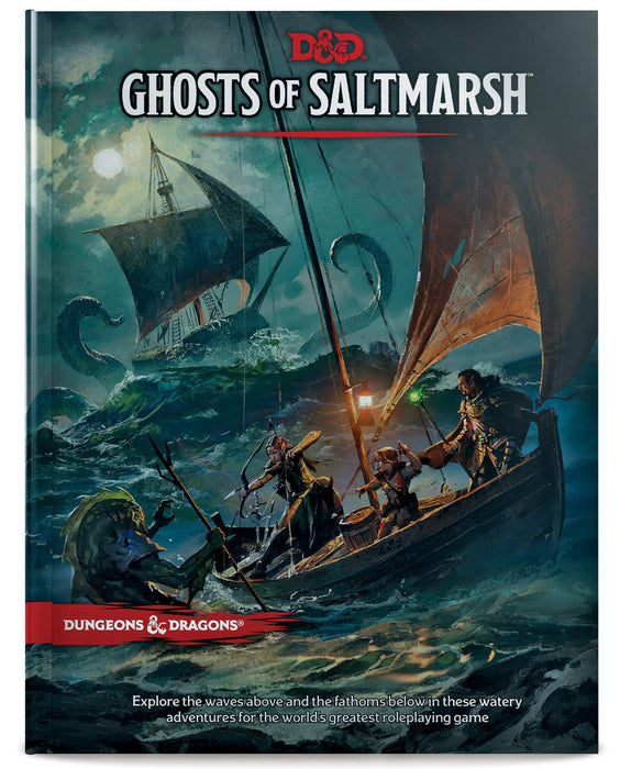 D&D Dungeons & Dragons Ghosts of Saltmarsh Hardcover