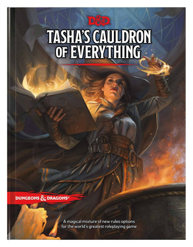 D&D Dungeons & Dragons Tasha's Cauldron of Everything Hardcover