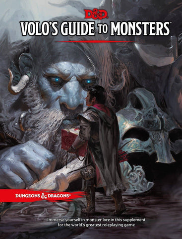 D&D Dungeons & Dragons Volos Guide to Monsters Hardcover