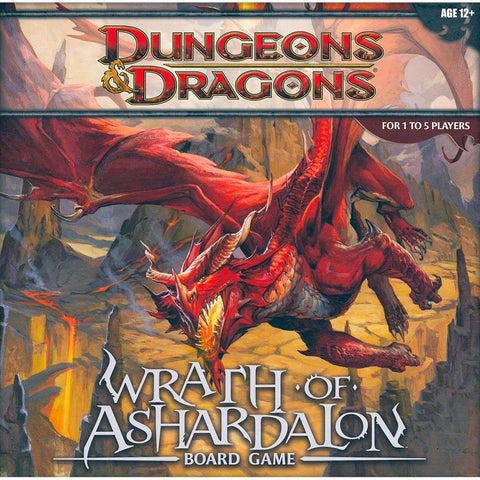 D&D Dungeons & Dragons Wrath of Ashardalon Board Game