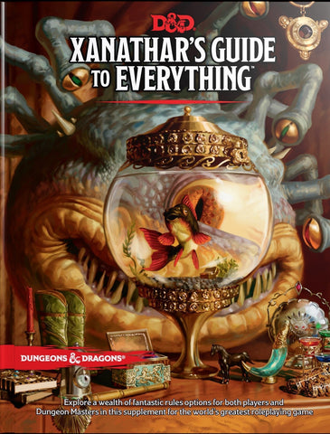 D&D Dungeons & Dragons Xanathars Guide to Everything Hardcover