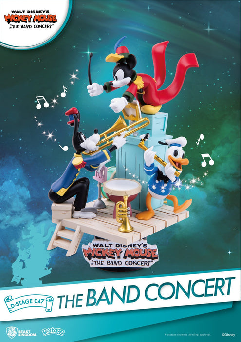 Disney Mickey Mouse the Band Concert Beast Kingdom D Stage