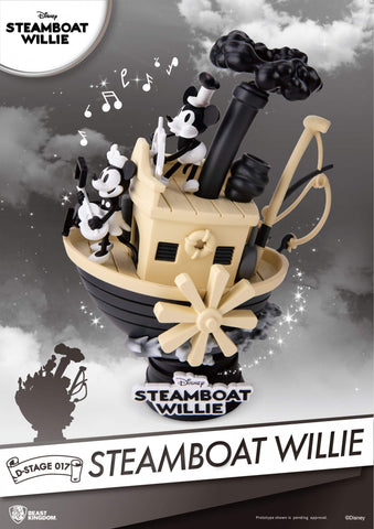 Disney Steamboat Willie Mickey Mouse Beast Kingdom D Stage
