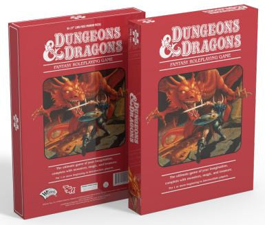 Dungeons & Dragons Puzzle 1,000 pieces