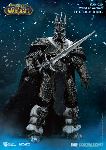 World of Warcraft Wrath of the Lich King Arthas Menethil Beast Kingdom Dynamic Action Heroes