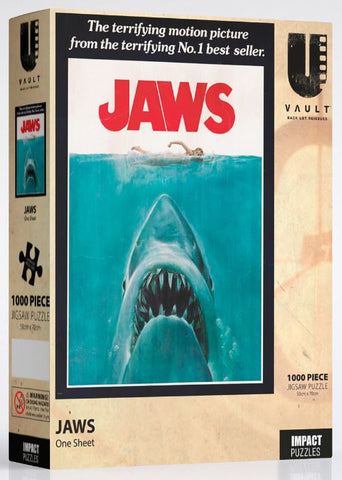 Jaws Puzzle 1,000 pieces