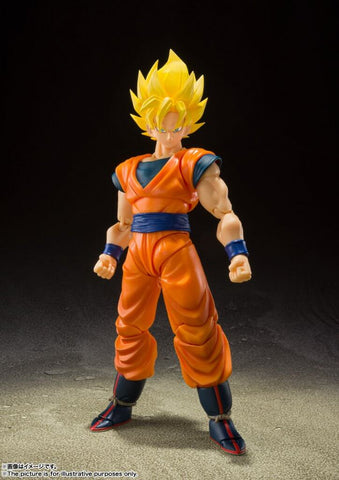 S.H.FIGUARTS Dragon Ball Z Super Saiyan Full Power Son Goku