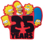 The Simpsons 25th Anniversary Magnet Soft Touch