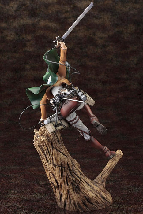 ATTACK ON TITAN Mikasa Ackerman Renewal Package Ver. ArtFX J Statue