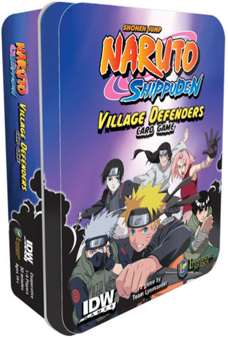 Naruto Shippuden Village Defenders Card Game