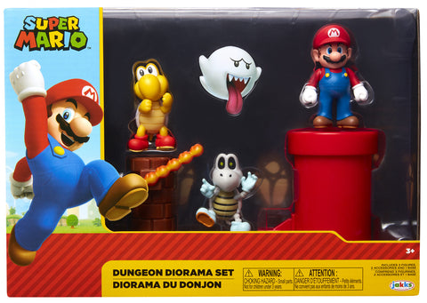 "World of Nintendo 2.5"" Dungeon Diorama Set"