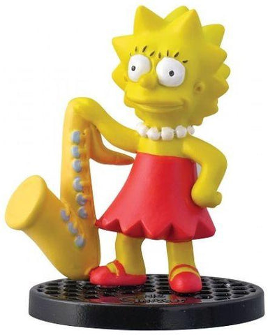 The Simpsons Lisa Simpson 2.75' PVC Figurine