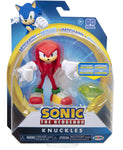 "Sonic the Hedgehog 4"" Articulated Figures with Accessory Wave 2 Modern Knuckles"