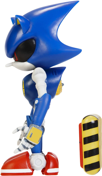 "Sonic the Hedgehog 4"" Articulated Figures with Accessory Wave 2 Modern Metal Sonic"