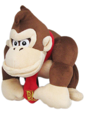 Super Mario Bros Plush Donkey Kong 10""