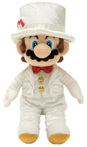 Super Mario Bros Plush Mario Groom 16""