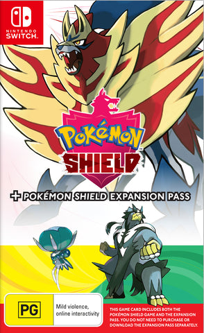 Pokemon Pokemon Shield + Pokemon Shield Expansion Pass