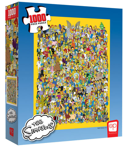 The Simpsons Casting Call Puzzle 1,000 pieces