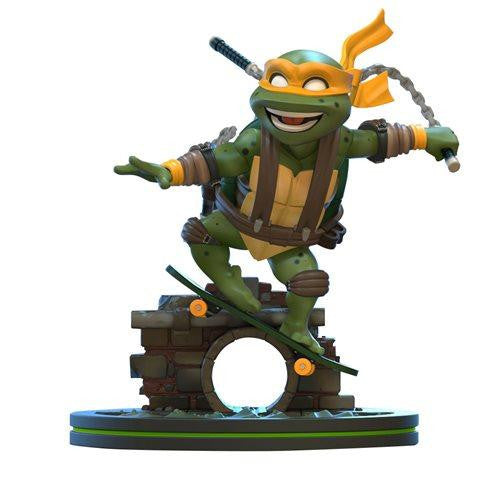 TMNT Teenage Mutant Ninja Turtles Michelangelo Q-FIG Figure