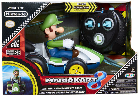 World of Nintendo Luigi Mini RC Racer