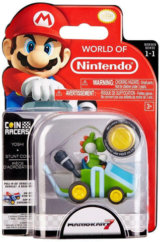World of Nintendo Super Mario Coin Racers Wave 1 - Yoshi
