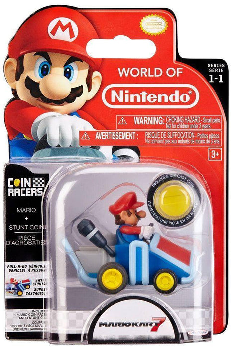 World of Nintendo Super Mario Coin Racers Wave 1 - Mario