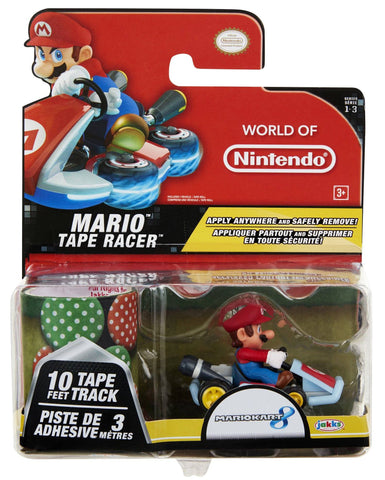 World of Nintendo Tape Racers Wave 3 - Mario With Mushroom Gorge