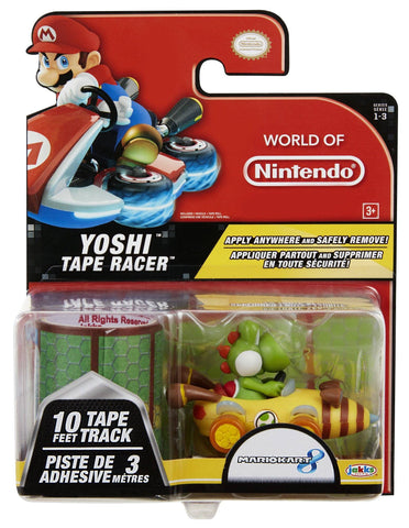 World of Nintendo Tape Racers Wave 3 - Yoshi With Alpine Pass